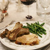 Tuscan-style Garlic-rosemary Roast Pork Loin and garlic green beans
