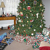 Our Christmas Tree and gifts.