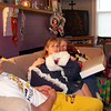 Cory, Cassie, Grandma Kay and Alex at christmas