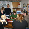 Lori, Louie, Cassie, Brady, Alex, Kim, Nathan and Cory on Christmas Eve day.