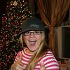 Cassie on Christmas Eve.