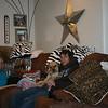Grandma Kay, Louie and Alex on Christmas Eve ( 2013 )