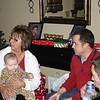 Lori, Lexi, Chad and Todd celebrating Christmas ( 2010 )