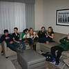 Alex, Gavin, Cassie, Morgan and their friends celebrating Christmas ( 2012 )