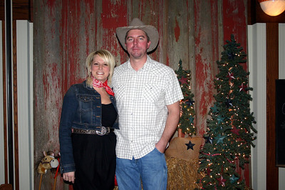 Kristy and Coy at the Lee Insurance Christmas party ( 2012 )