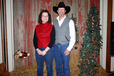 Matt and Dee at the Lee Insurance Christmas party ( 2012 )