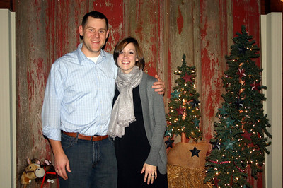 Andy and Megan at the Lee Insurance Christmas party ( 2012 )