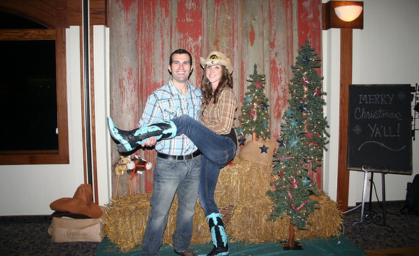 Kate and Ryan at the Lee Insurance Christmas party ( 2012 )