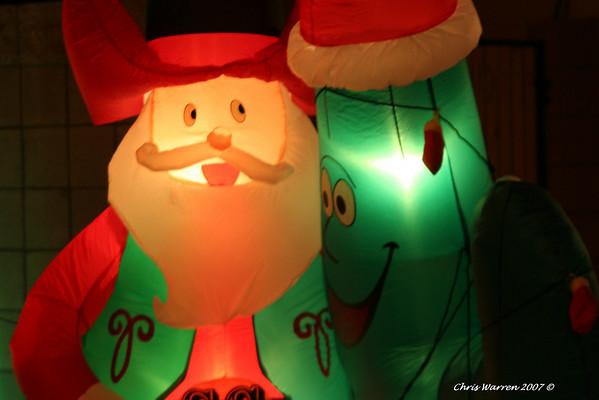 Christmas decor 2007