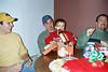Cory, Chad, Gavin and Dan at christmas party