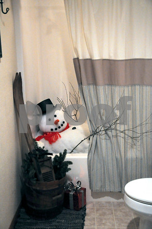 -Messenger photo by Joe Sutter<br /> <br /> This jolly bathtub dweller was a favorite at the home of Staci and Randy Halligan.