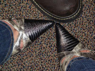 Lori's new shoe's