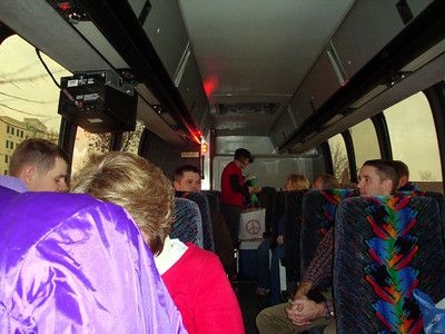 The Lee Insurance group on the bus ( 2009 )