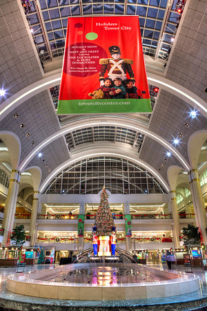 Christmas 2011 at the Tower City Center, Cleveland Ohio