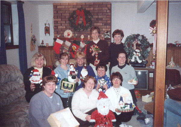 Heather, Lori, Sandy Plemmons, Dee, Freda, Karen and Pat