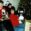 Lori, Betty and Amy Gubser with their gifts