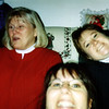 Betty, Lori and Amy Gubser at the christmas exchange
