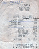 1988 Receipt for The Shirts