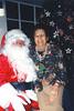 2001 Mom and Santa at Eagle Lakes