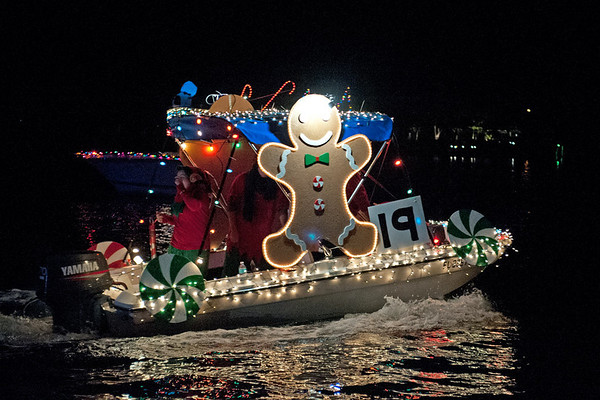 Passe a Grille Boat Parade 2012