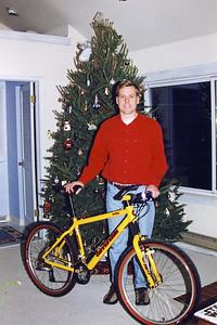 Christmas Day - New Bike - Andrew