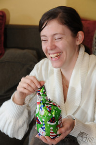 Presents always bring cheer and joy!