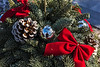 D358-2013  'Kissing Ball' evergreen holiday decoration<br /> <br /> December 24, 2013