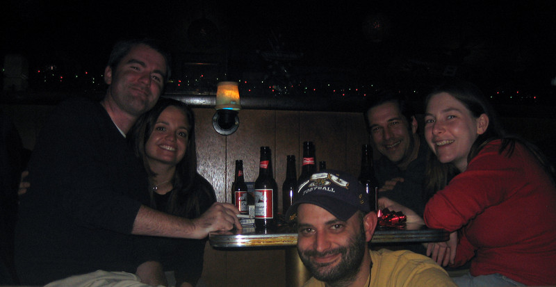 Late xmas eve eve after bowling and drinks