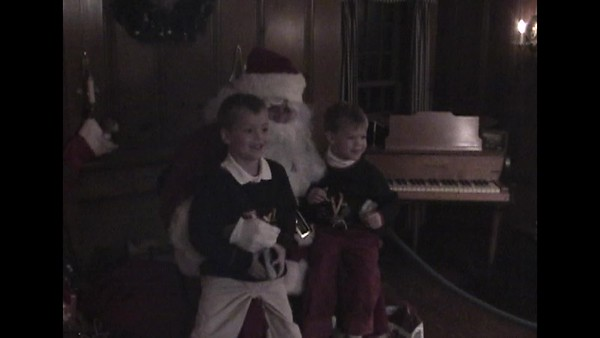 Santa at Ford House