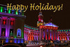 Christmas Lights Denver City and County Building