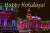 Christmas Lights Denver City and County Building