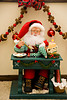 Statue of Santa Claus Painting Toys