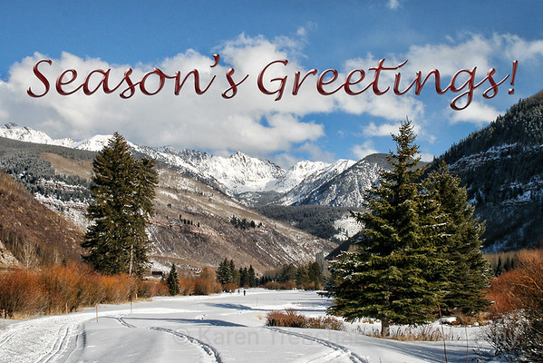Vail Season' Greetings!