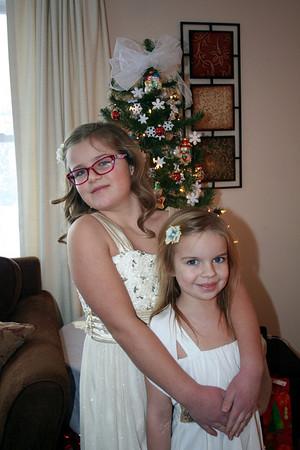 Anissa & Makenna Christmas 2013