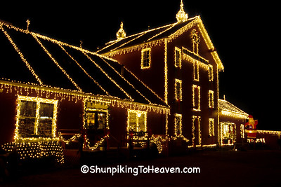 Christmas at Clifton Mill, Greene County, Ohio