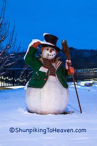 Snowman, Sauk City, Wisconsin