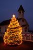 Christmas at Fair Valley School, Built 1910, Sauk City Historic Park, Sauk City, Wisconsin