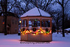 Christmas in Historic Library Park, Belleville, Wisconsin