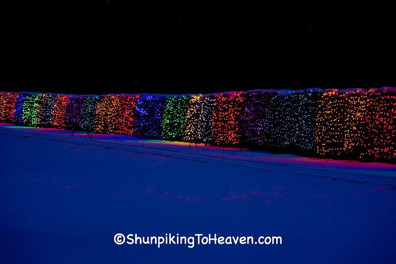 University Avenue Holiday Lights In >> Christmas Shunpiker