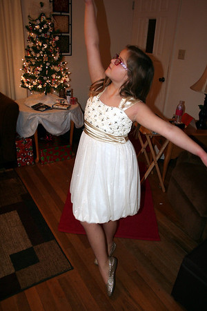 .... Anissa also did an interpertive dance to a Christmas song......    Christmas 2013