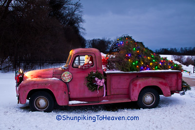 Christmas Truck, Green County, Wisconsin