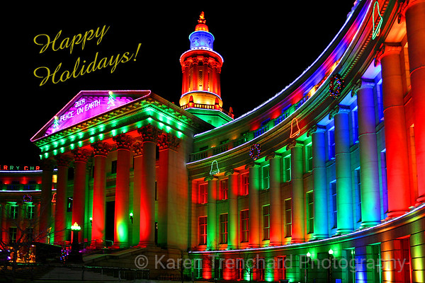 Happy Holidays! Denver, CO
