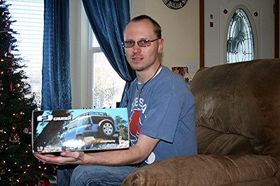 For Christmas Mom & Dad Kelly got Patrick a model FJ. So now we have a small FJ and the full size FJ.