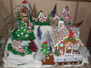 Ginger bread village at Oak Tree Villa