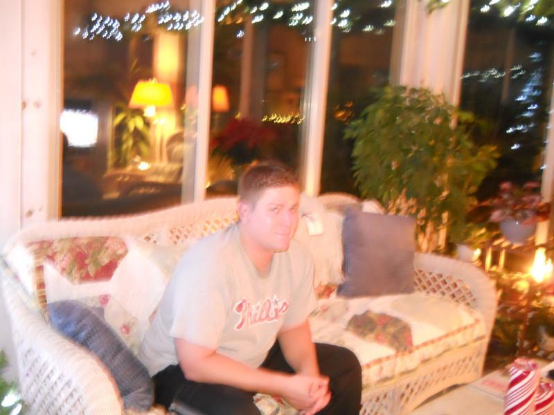 Matt on Thanksgiving night
