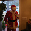 Santa made a special visit to Jake's house.