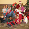 Reese's class picture with Santa