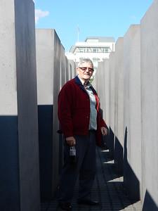 Dad at Holocaust Memorial 1