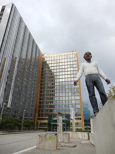Balancing Act Statue