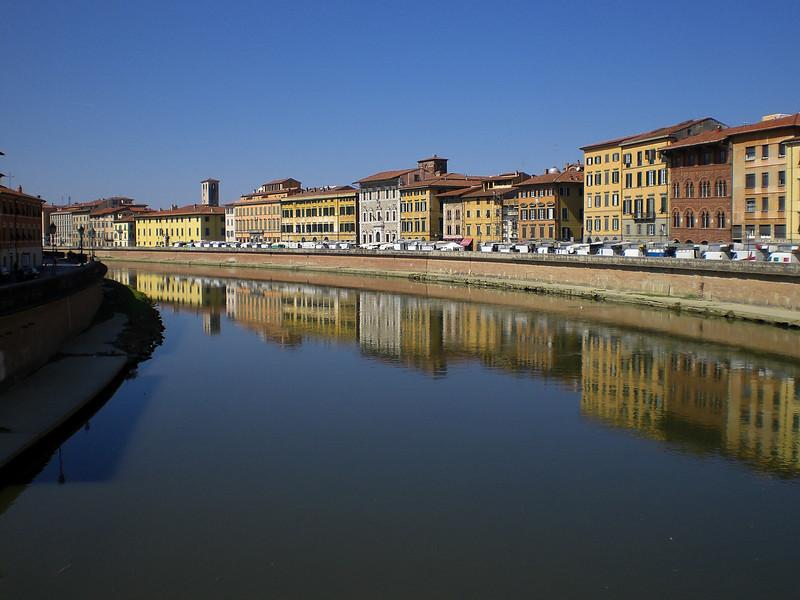 View from bridge at Pisa_2